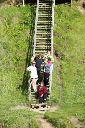 Harboelympics trapp
