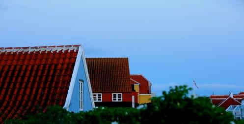 Skagen hus med fargar 3