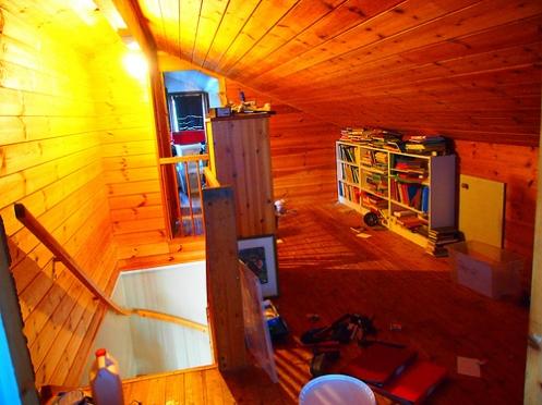 oppussing av loftet