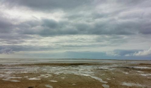 fjøre sjø ved Rømø