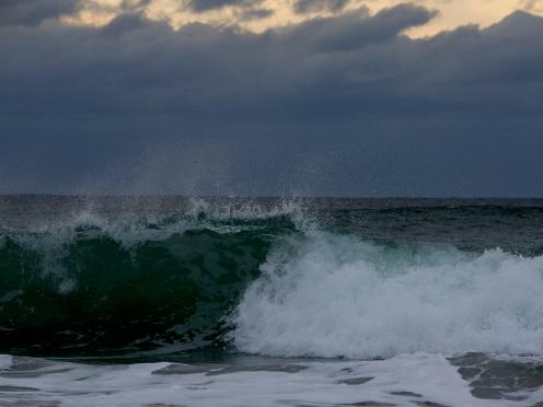bølge i vind