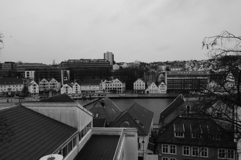 Gatebilete Stavanger. feb 14